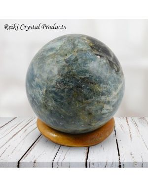 Kyanite Ball / Sphere for Reiki Healing / Grid and Vastu Correction