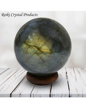 Labradorite Ball / Sphere for Reiki Healing / Grid and Vastu Correction