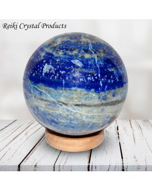 Lapis Lazuli Ball / Sphere for Reiki Healing / Grid and Vastu Correction