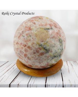 Sunstone Ball / Sphere for Reiki Healing / Grid and Vastu Correction