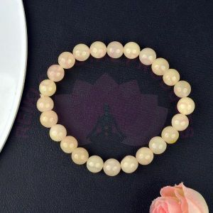 Yellow Aventurine 8 mm Round Bead Bracelet
