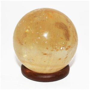 Yellow Calcite Ball / Sphere