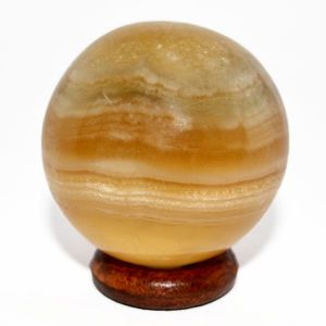 Yellow Fluorite Ball / Sphere