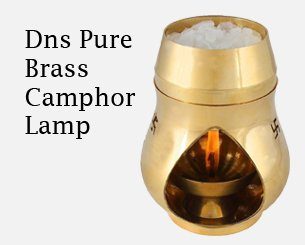 Dns Pure Brass camphor Lamp
